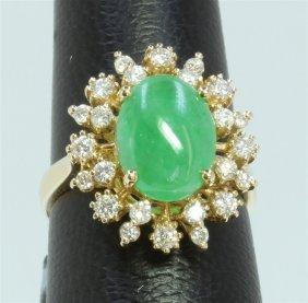5.74g/diamond:0.73ct/jade:3.73ct