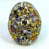 NATURAL CEYLONG MIX SAPPHIRE 1175CT  DIAMOND 063CT