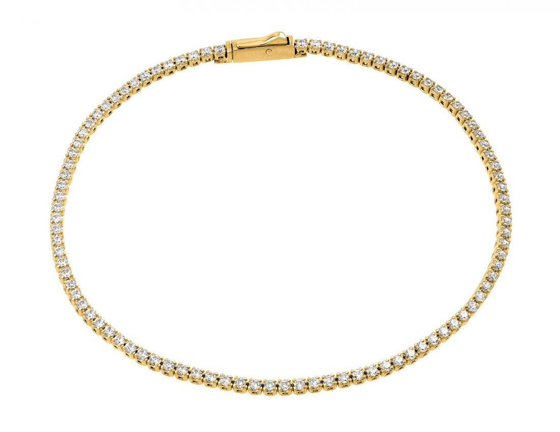 Sterling Silver Gold Plated Multiple Cricle Clear