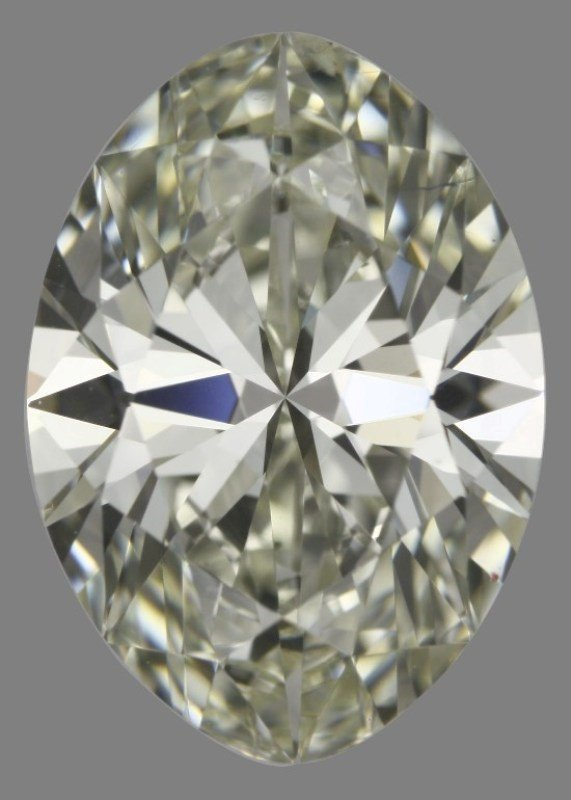 GIA/Oval/K/SI1/2.01Ct