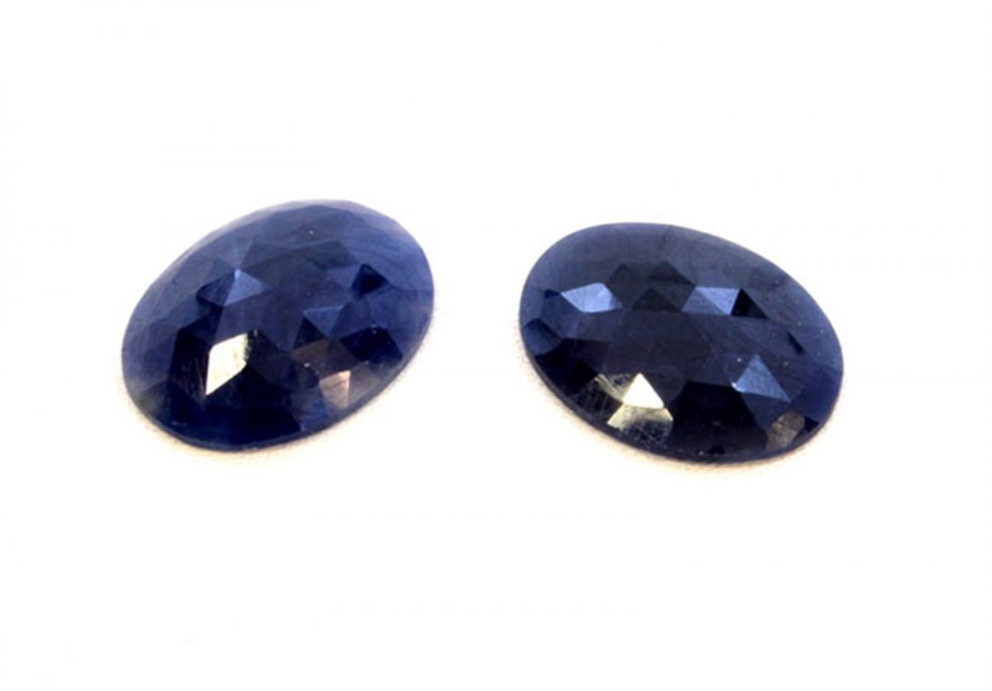 29 ct & up Natural Sapphire Slice Rose Cut Loose Stone