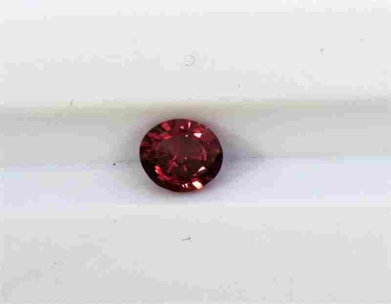 0.36ct Round Shape Pink Natural Ceylon Sapphire