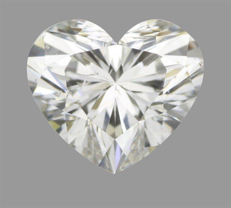 GIA/Heart/G/SI1/0.95Ct