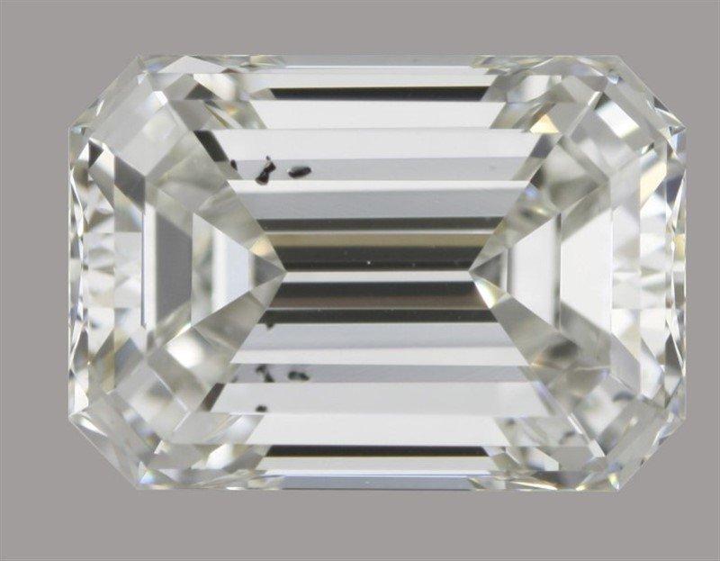 GIA/Emerald/G/SI2/0.9Ct