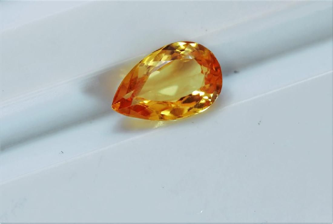 1.29 ct Pear Shape Imperial Topaz