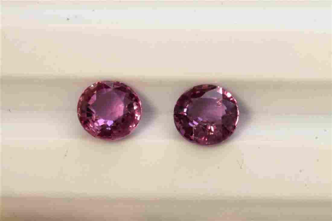 2.04ct Round Shape Pink Natural Ceylon Sapphire