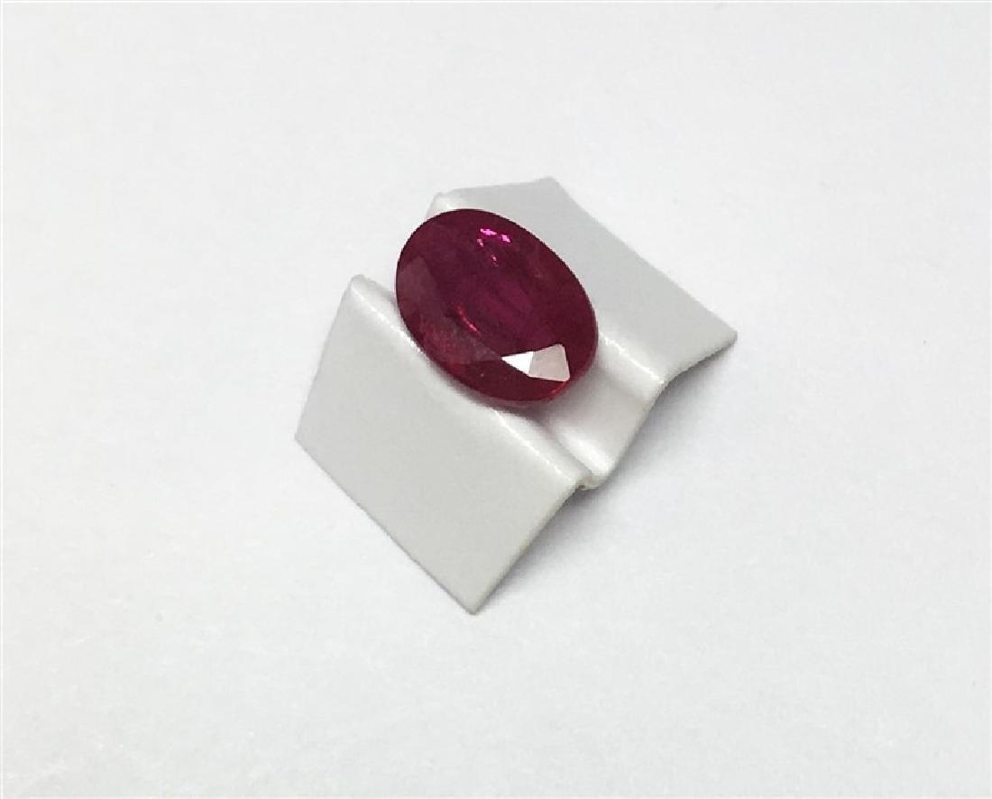 0.86ct Oval Cut Ruby