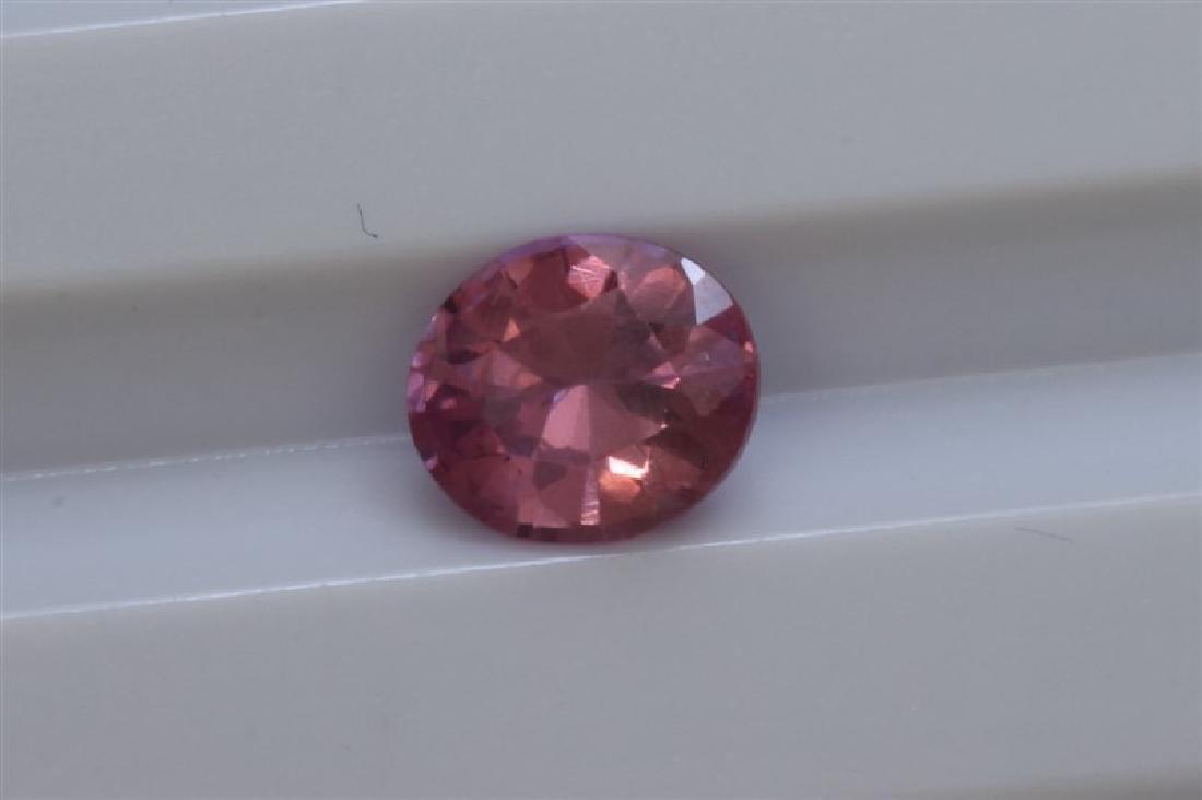 1.00ct Oval Shape Natural Ceylon Pink Sapphire