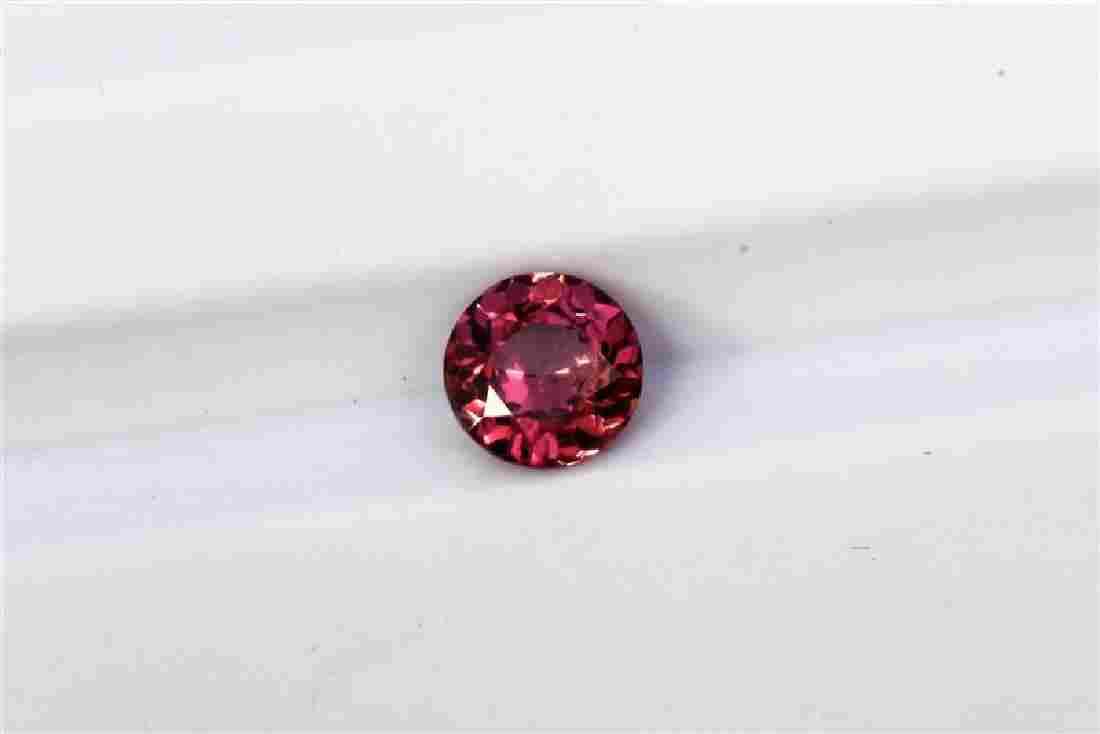 0.43ct Round Shape Pink Natural Ceylon Sapphire