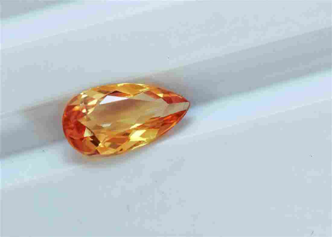 1.43 ct Pear Shape Imperial Topaz