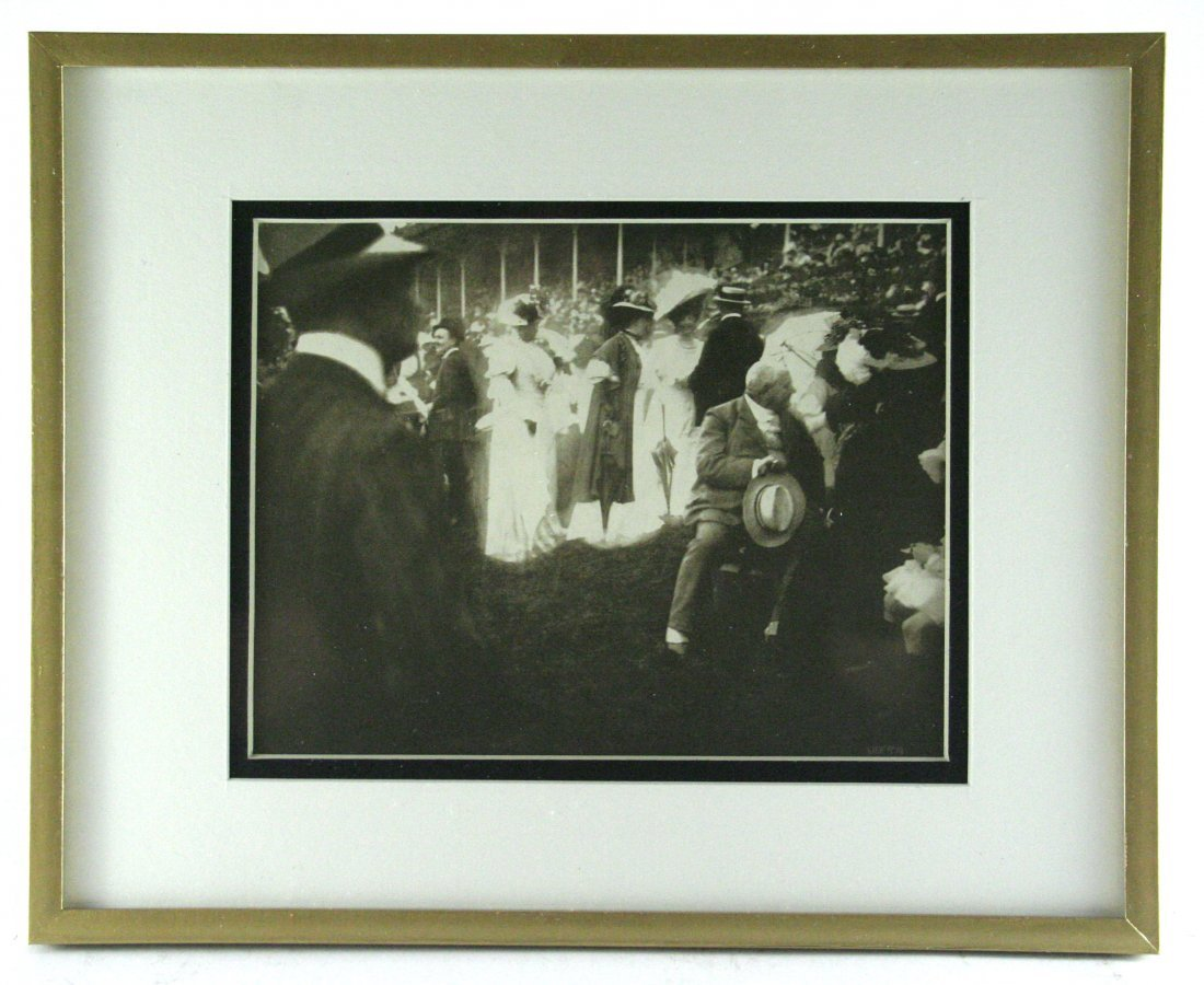 Edward Steichen, Steeplechase Day, Paris,The Grandstand