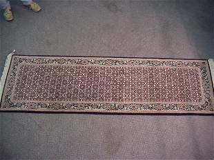 2'6 x 8' Silk & Wool Tabriz Runner