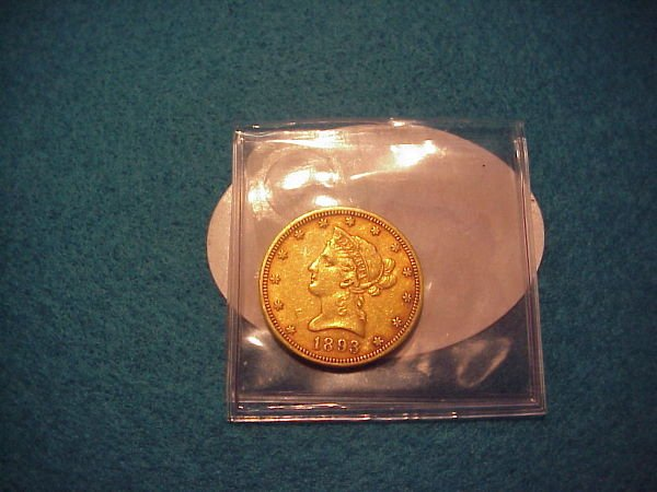 11: 1893 $10.00 American Gold Coin