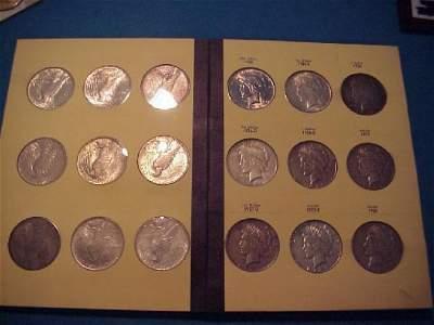38: Peace Silver $ Set 1921 – 1935