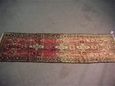 47: 2'10 x 9'10 Antique Persian Rug