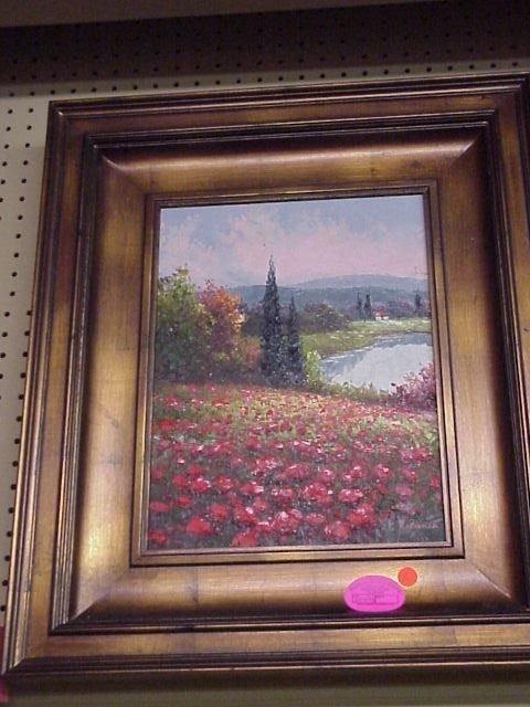 203: Oil Painting/Poppy Field