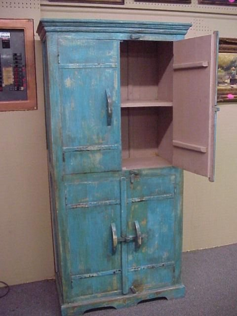 206: Painted Cabinet