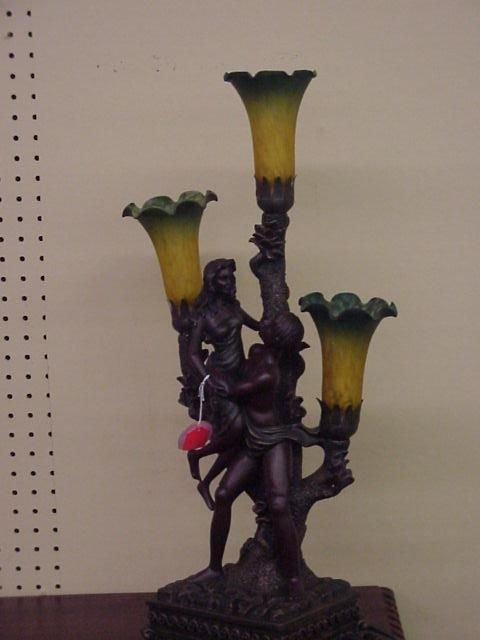214: Figural Lamp