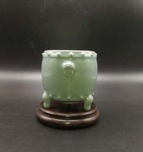 Chinese Longquan Porcelain Incense burner