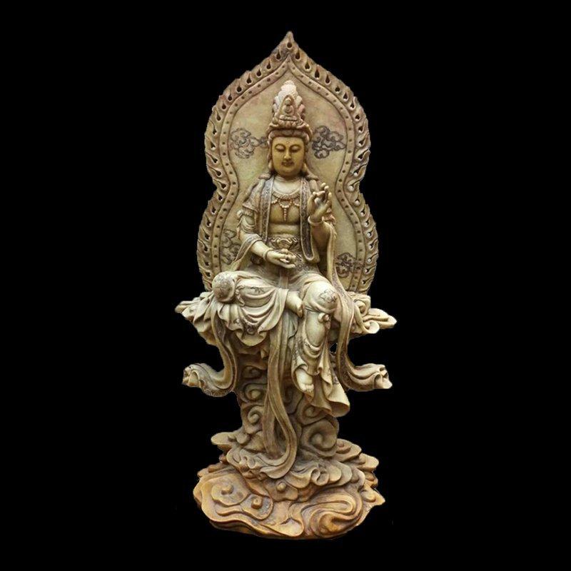 Large Chinese Shoushan stone  Buddha