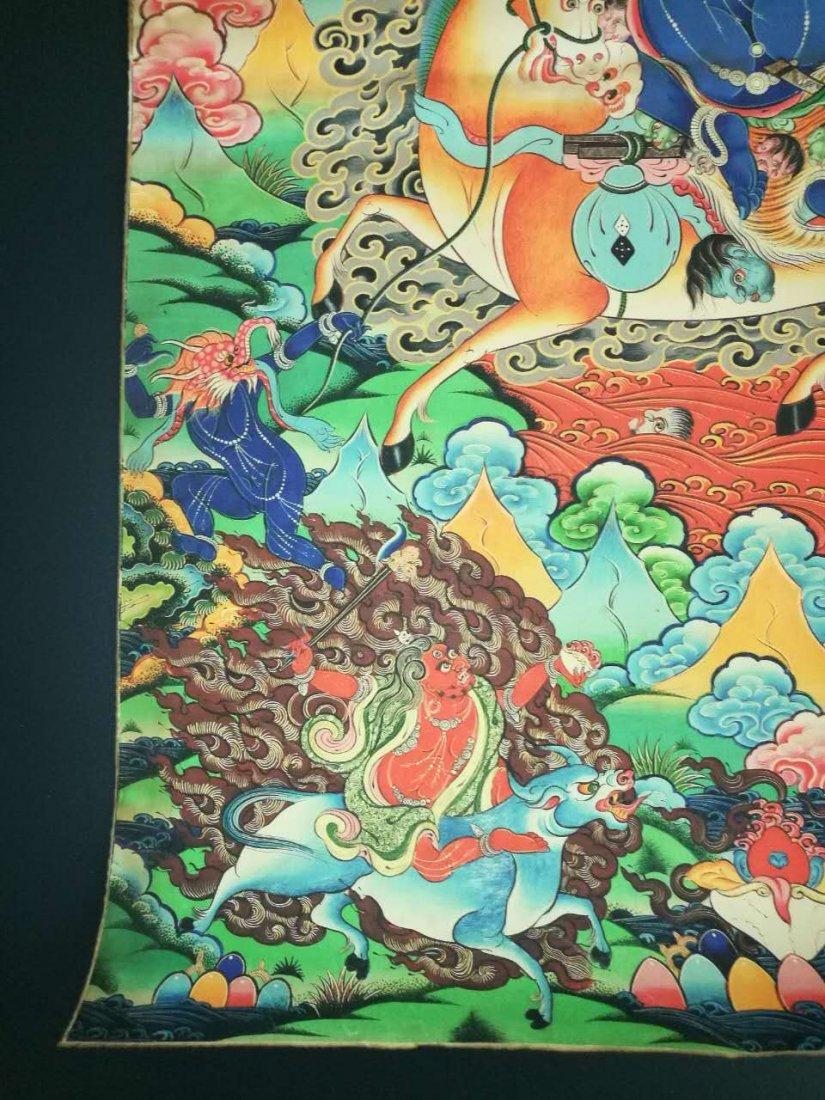 Chinese Tibetan Tangka Painting - 10