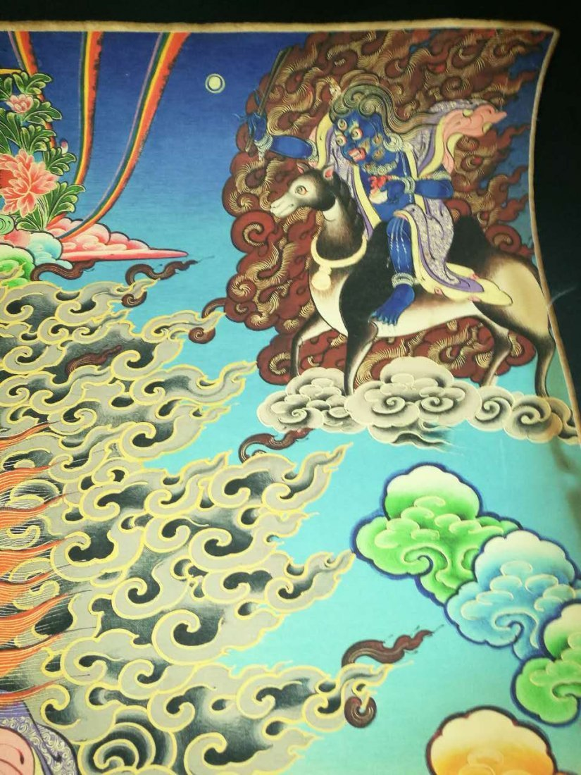 Chinese Tibetan Tangka Painting - 5