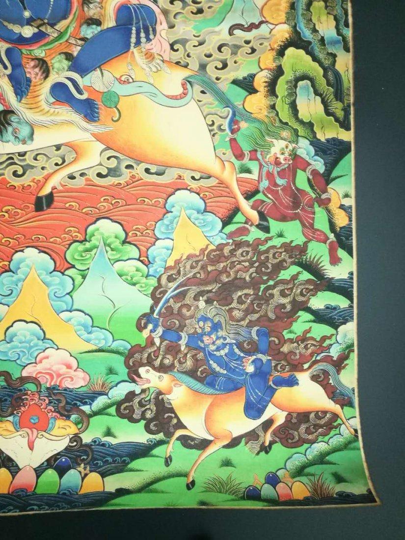 Chinese Tibetan Tangka Painting - 6
