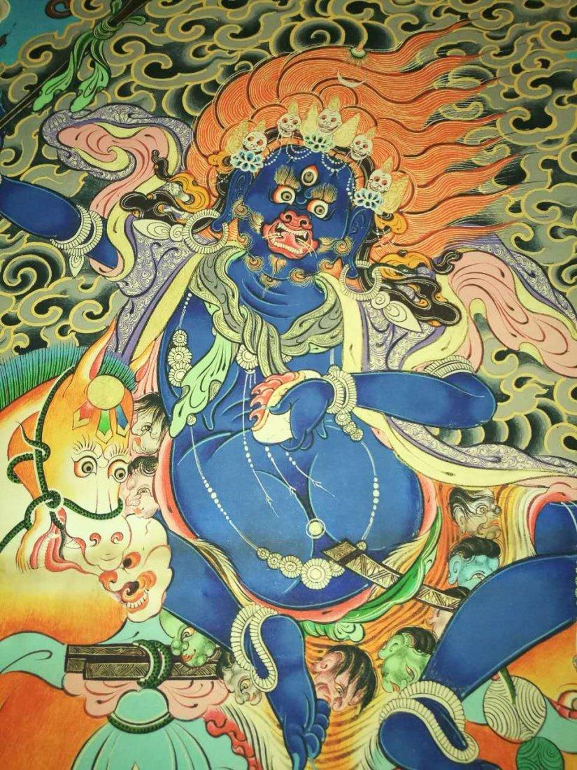 Chinese Tibetan Tangka Painting - 9