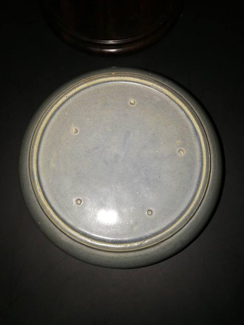 Antique Chinese Longquan kiln porcelain brush washer - 5