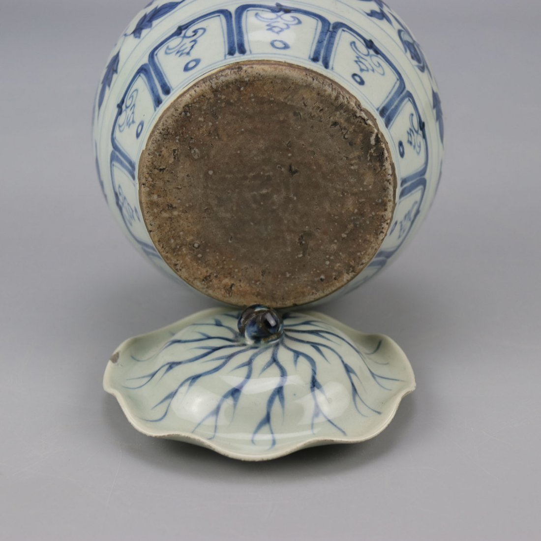 Chinese Porcelain Blue and White Jar - 2