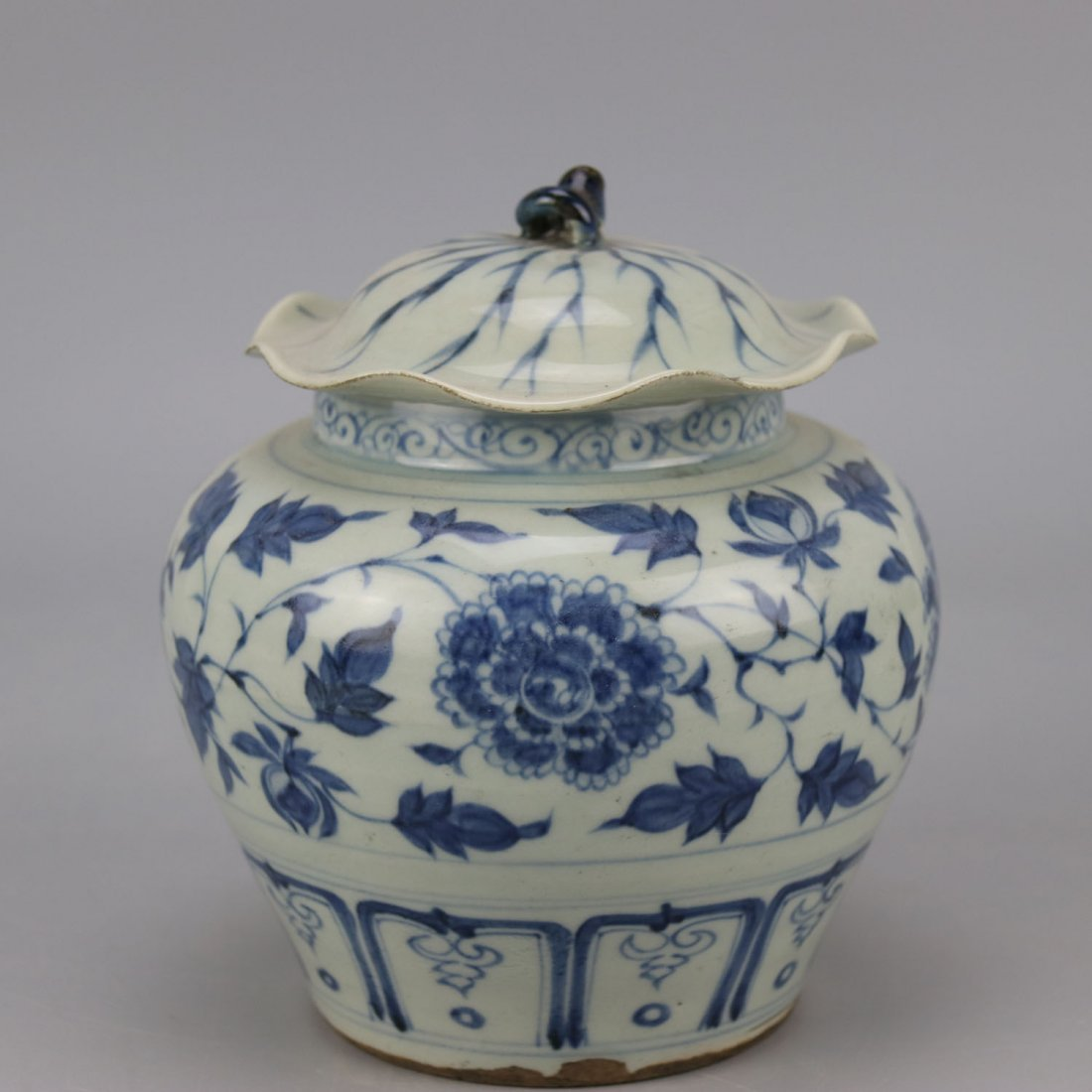 Chinese Porcelain Blue and White Jar - 3