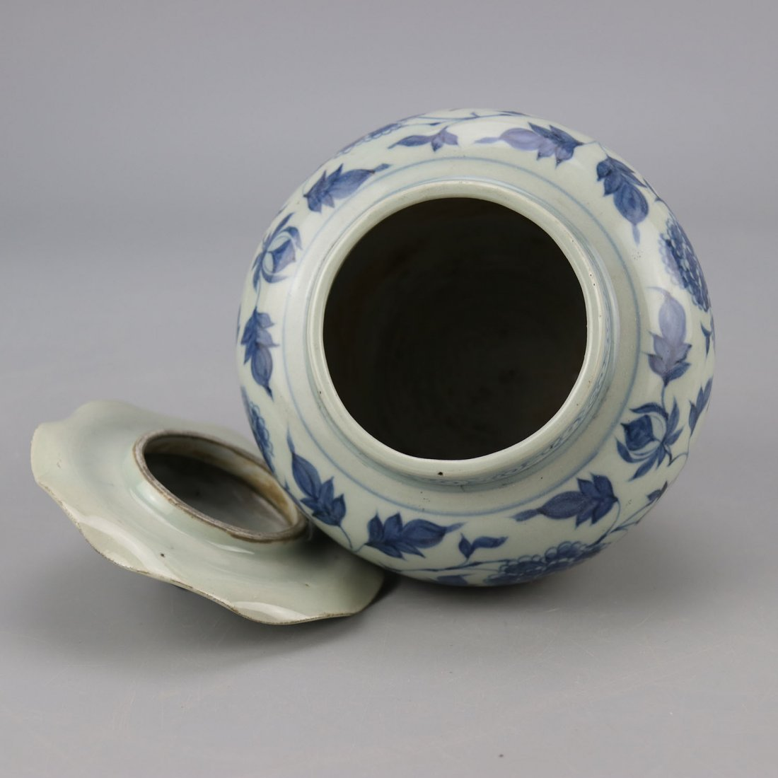 Chinese Porcelain Blue and White Jar - 5