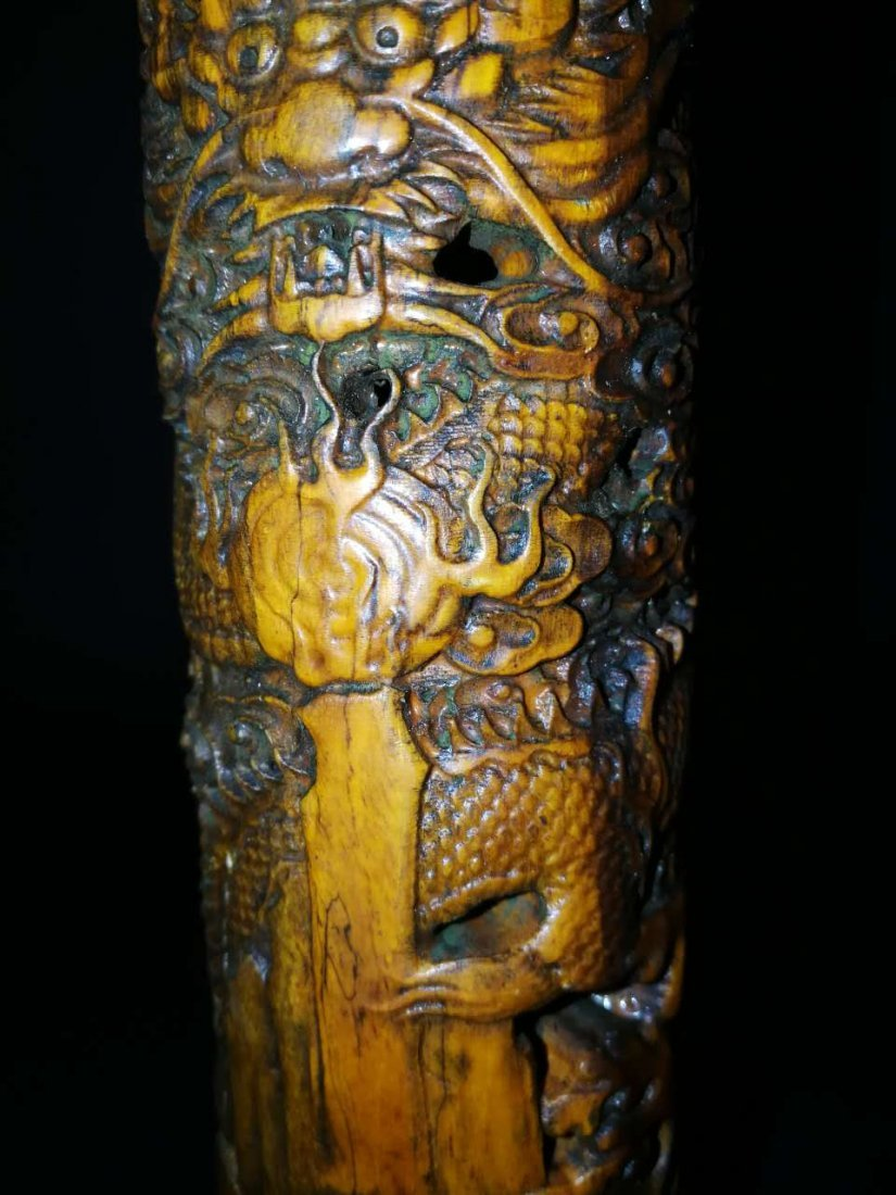 Chinese Bamboo Incense tubular - 5