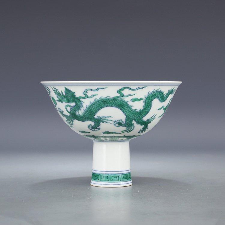 Chinese Antique Yellow Glazed Porcelain Bowl