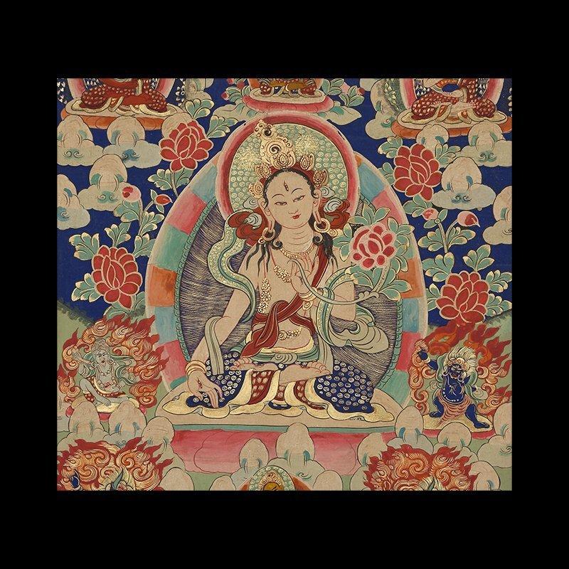 Buddhist Thangka. Tibet. Early 20th century - 2
