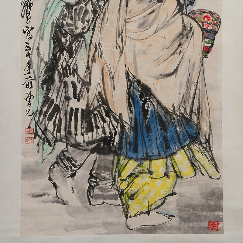 Chinese Scroll Painting,Fan zeng(1938.7.5-) - 4