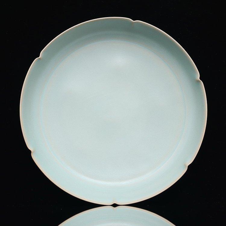 Chinese Ruyao Porcelain plate