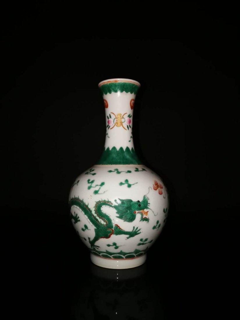 Chinese Qianlong mark porcelain vase