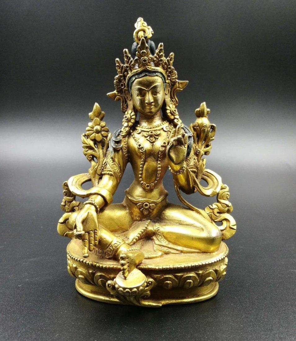 Chinese The old Buddha bodhisattva tara