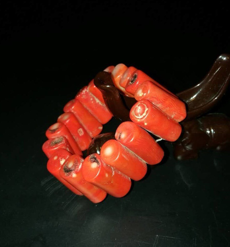 Chinese coral Bracelets