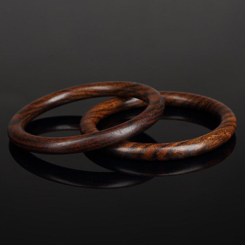 Chinese huang huali wood bracelets