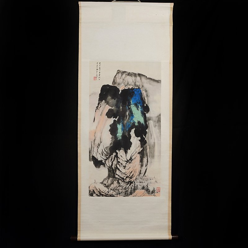 Chinese Scroll Painting,Chang Dai-Chien(1899-1983)