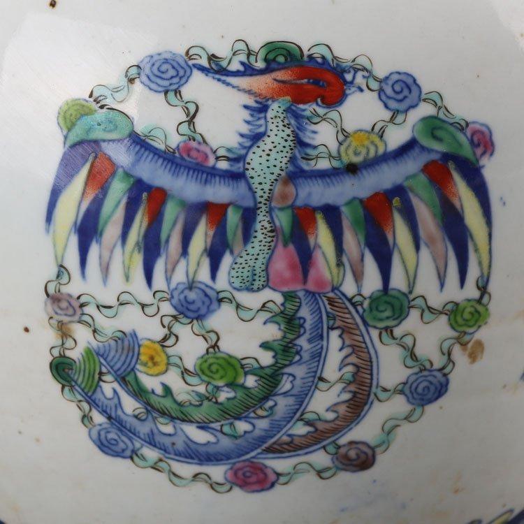 Chinese Qing kangxi Dragon and Phoenix Jar - 6