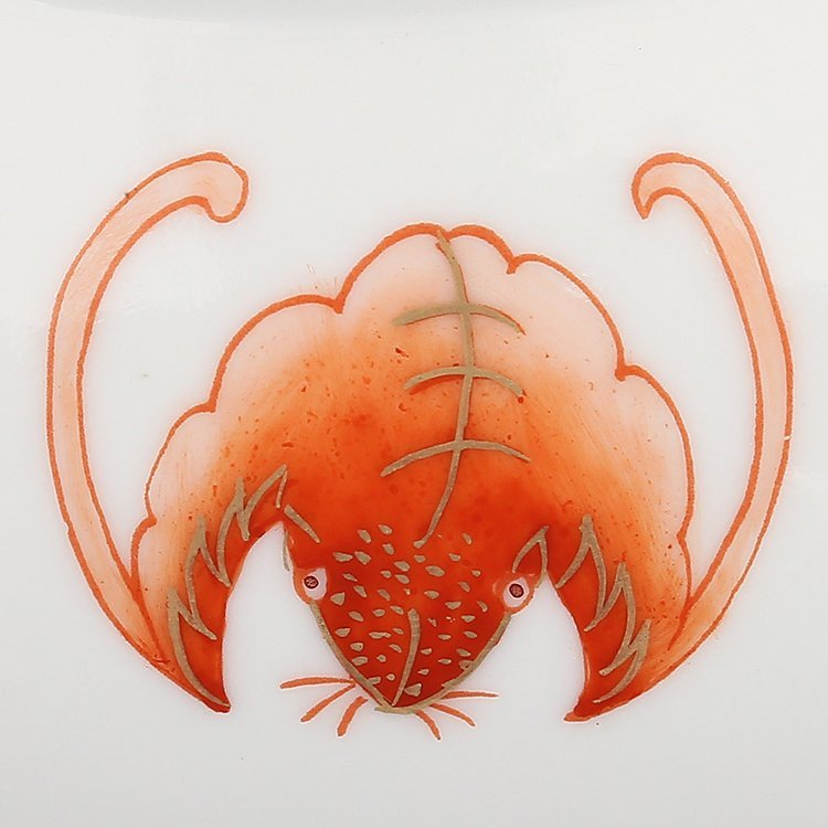 Chinese  Red glaze Porcelain Plate - 7