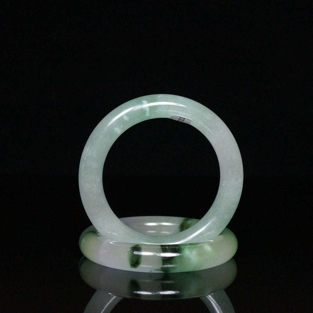 Pair of Chinese Jade Bracelets