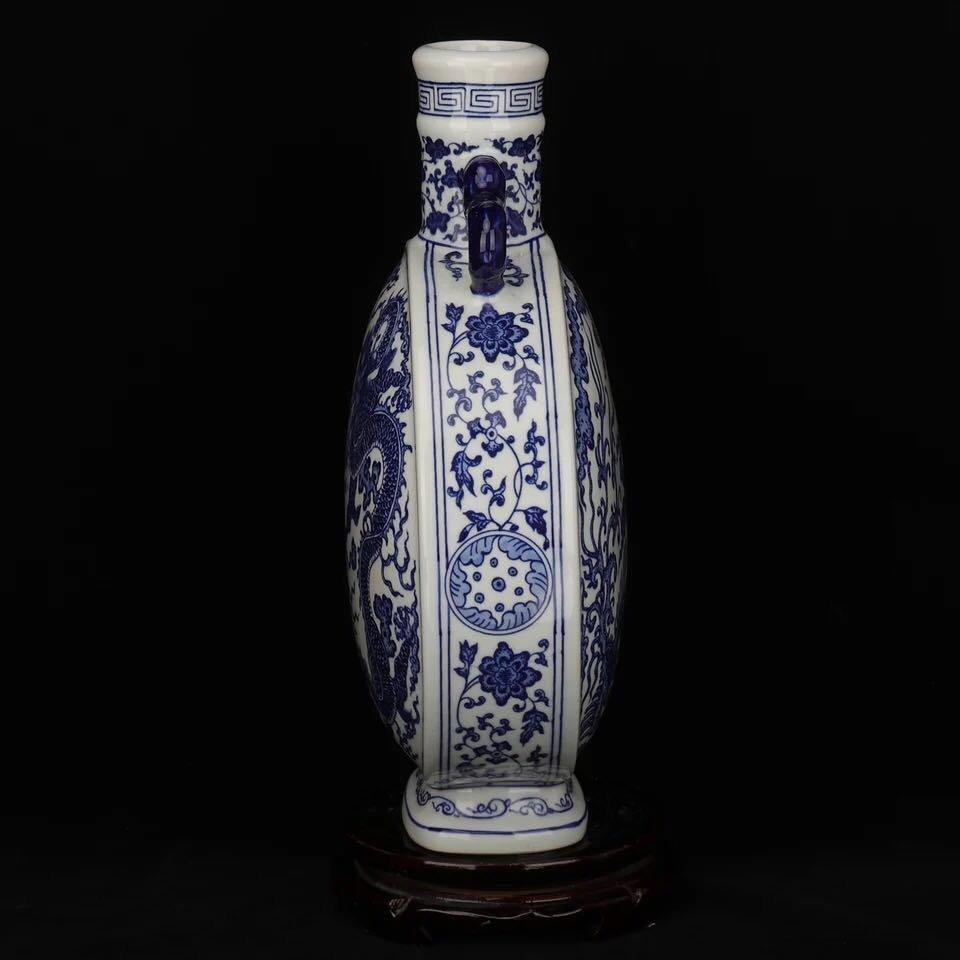 Chinese Blue And White Porcelain Vase - 6