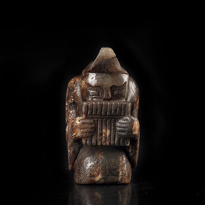 Ancient Chinese  Jade Figure - 2