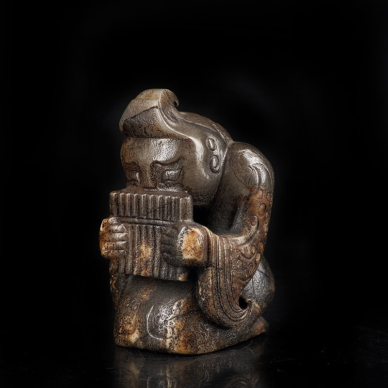 Ancient Chinese  Jade Figure - 3