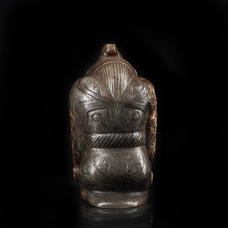 Ancient Chinese  Jade Figure - 5