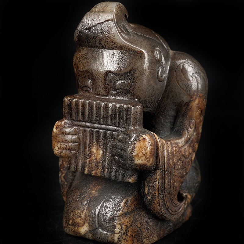 Ancient Chinese  Jade Figure - 6